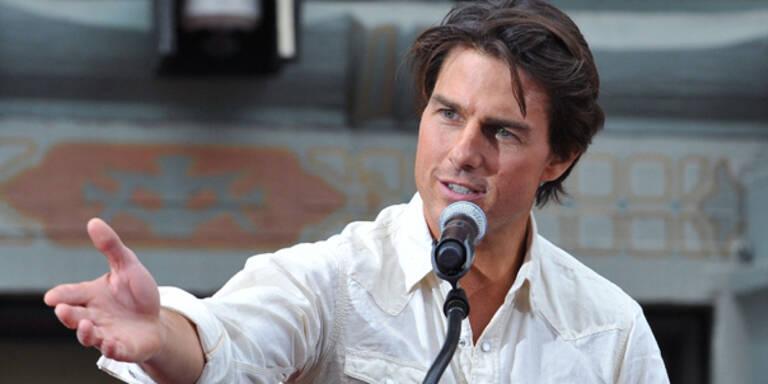Tom Cruise David Beckham Fussball-WM