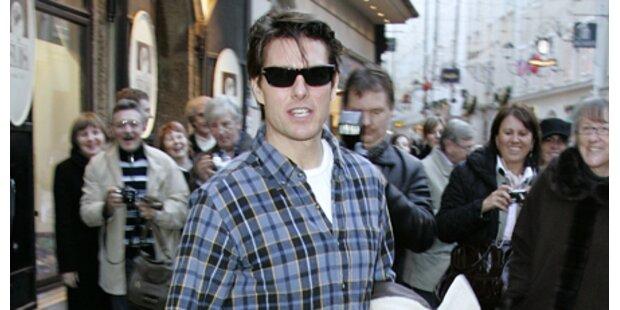 Tom Cruise ist in Salzburg gelandet!