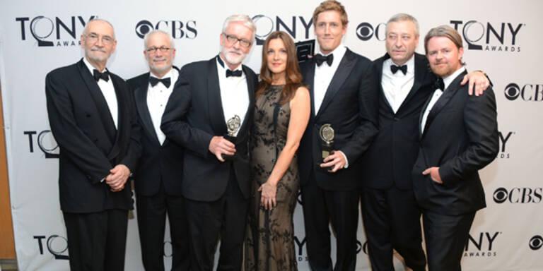 Die Gewinner der Tony Awards 2012