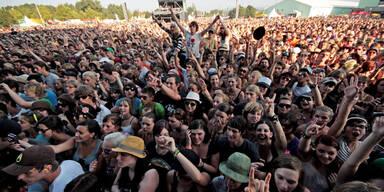 Top-Acts der Rock-Festivals!