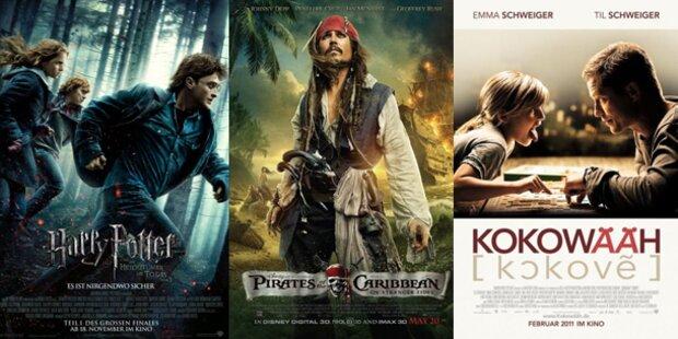 Die Top Kino-Filme des Jahres