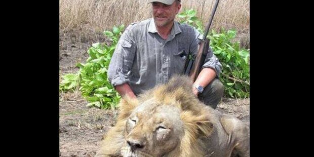 Tropheenjäger macht Selfie mit totem Löwen und stirbt beim Jagen