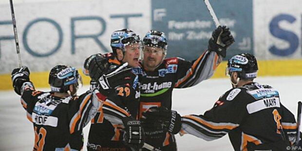 Black Wings Linz gewannen auch zweites Finalspiel