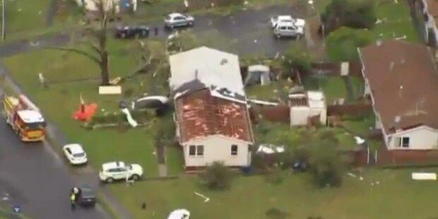 Tornado verwüstet Neuseeland: Drei Tote