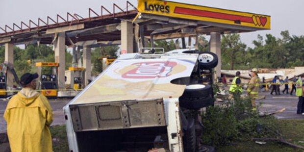 Fünf Tote nach Tornados in Oklahoma