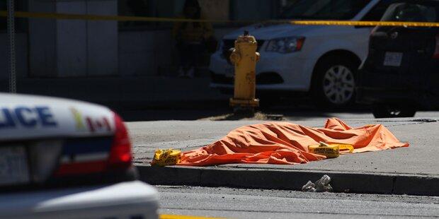 Neun Tote, 16 Verletzte in Toronto