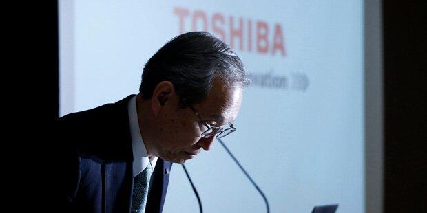 Toshiba verbucht Milliardenverlust