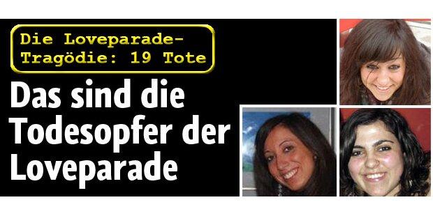 Das sind die Toten der Loveparade