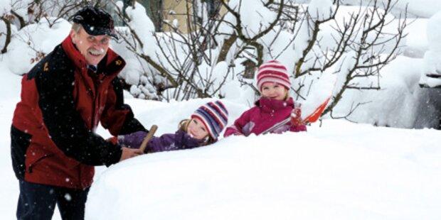 Ein Land tanzt im Schnee Walzer