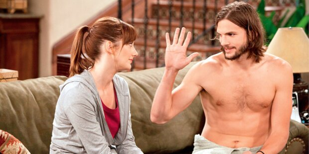Ashton Kutchers nackter TV-Start