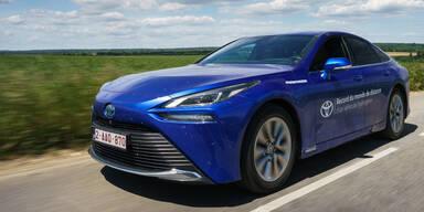 Neuer Toyota Mirai schafft Reichweitenrekord