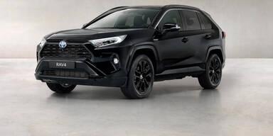 Toyota bringt Sondermodell RAV4 Black Edition