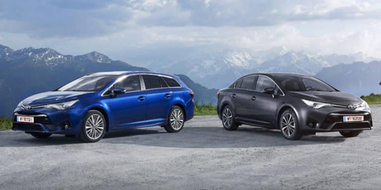 """So fährt sich der """"neue"""" Avensis"""