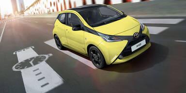 Toyota greift mit dem Aygo x-cite an