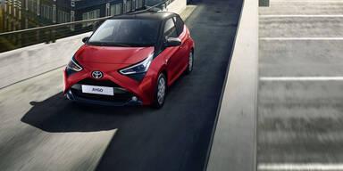 Toyota rüstet den Aygo ordentlich auf
