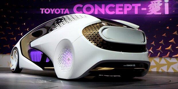 Toyota setzt bei smarten Autos auf Audi-Partner