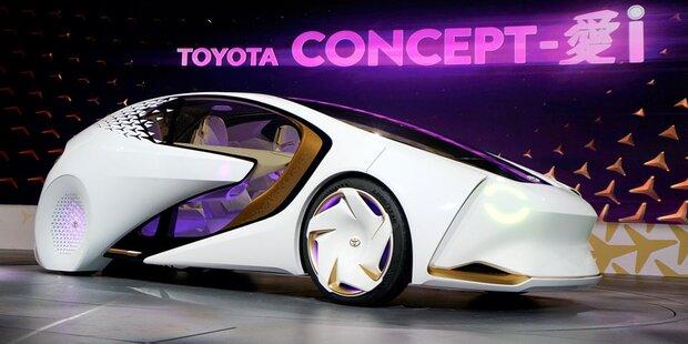 Toyota stellt intelligentes Auto vor