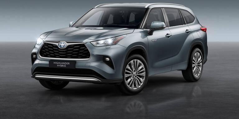 Toyota Highlander startet in Österreich