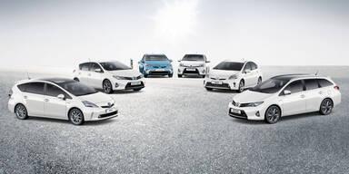 Toyota-Hybridautos knacken 7 Mio. Marke