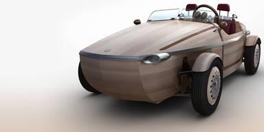 Toyota zeigt coole Studie aus Holz