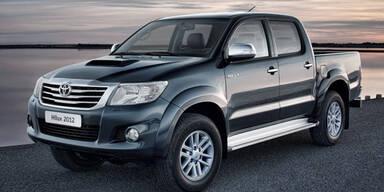 Toyota Hilux 2012: Facelift und neuer Motor