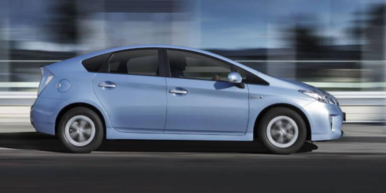 Rückruf für 1.557 Toyota Prius in Österreich