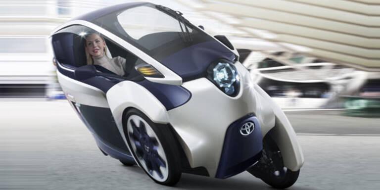 Toyota i-Road: Cityflitzer der Zukunft