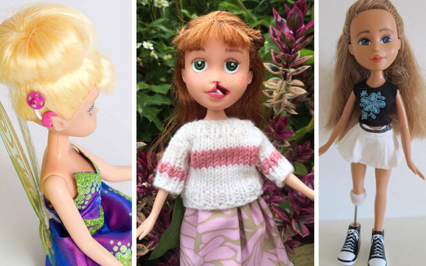 Diese Puppen helfen behinderten Kindern