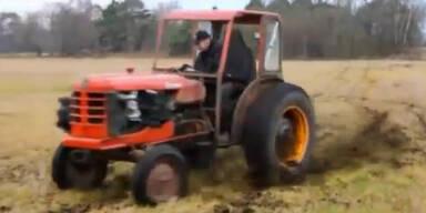 Das ist der schnellste Traktor der Welt