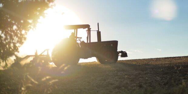 51-Jähriger unter Traktor eingeklemmt