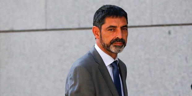 Katalanischer Polizeichef unter Auflagen wieder frei