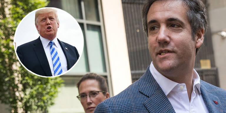 Trumps schwärzester Tag - Cohen bekennt sich schuldig