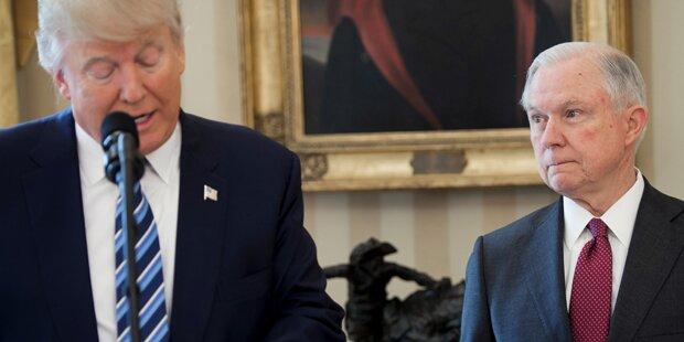 US-Justizminister will trotz Trump-Kritik im Amt bleiben