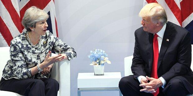 Trump besucht Großbritannien erst 2018