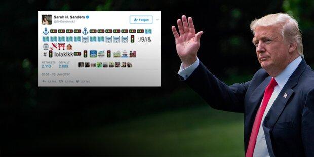 Weißes Haus verwirrt erneut mit mysteriösem Tweet