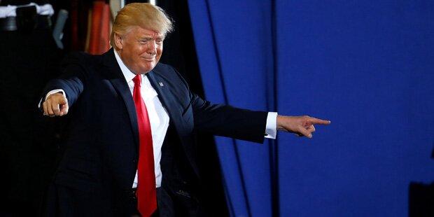 So wütet Trump an seinem 100. Amtstag gegen die Medien