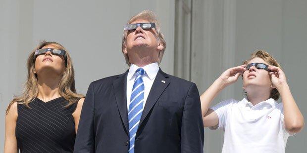 Neuerlich bizarrer Sonnenfinsternis-Tweet von Trump