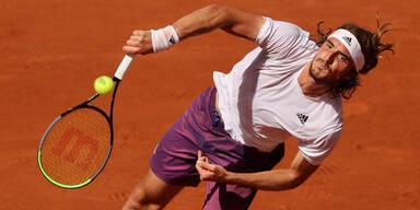 Stefanos Tsitsipas bei den French Open 2021