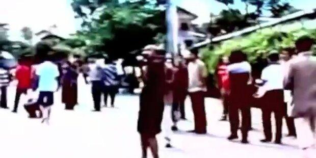 Mega-Erdbeben der Stärke 8,7 vor Sumatra