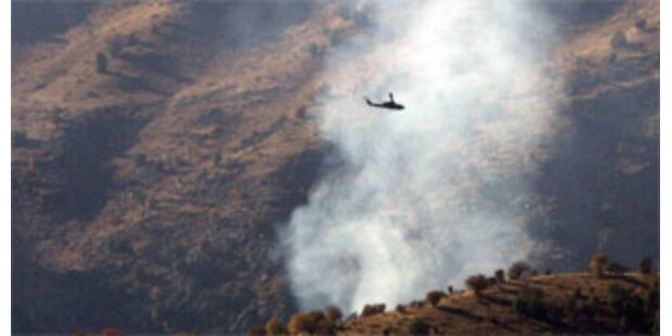 Türkische Luftangriffe auf kurdische Stellungen