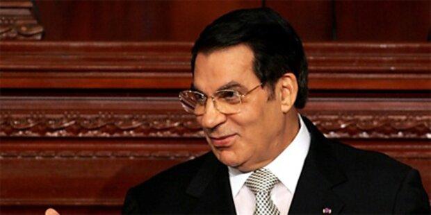 Österreich friert Ben Alis Vermögen ein