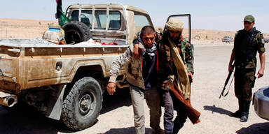 Tunesien Libyen Grenzgebiet Verletzter