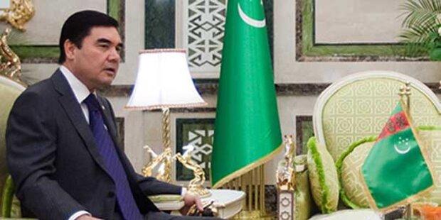 Turkmenischer Präsident stellt sich Wiederwahl