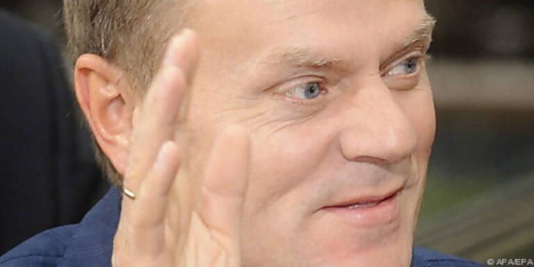 """Tusk: """"Grenzüberschreitende Herausforderung"""""""