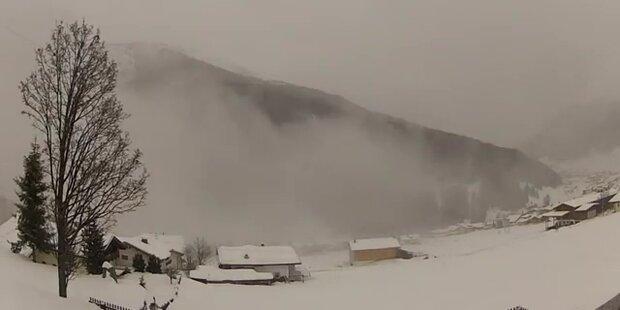 Die Wetterlage bei Vorderlanersbach, Tirol