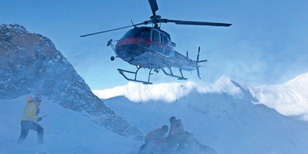 Skiführer stürzt am Arlberg 100 Meter in den Tod