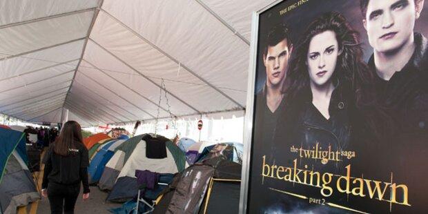 Twilight-Fans campieren für Weltpremiere