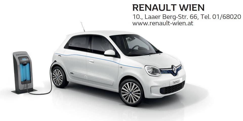 Neuen Renault Twingo Electric gewinnen