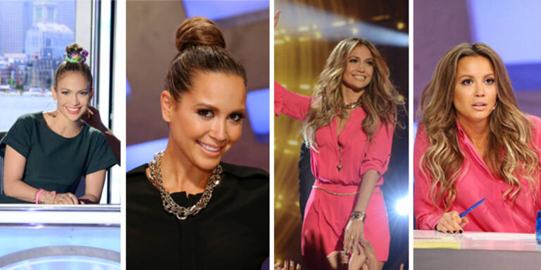 Mandy Capristo kopiert J.Lo's Look!
