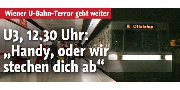 Wiener U-Bahn-Terror: Mit Messer bedroht